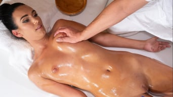Katie Dee in 'Tight babe opened up by masseur'